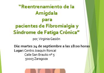 Charla informativa : Reentrenamiento de la Amigdala