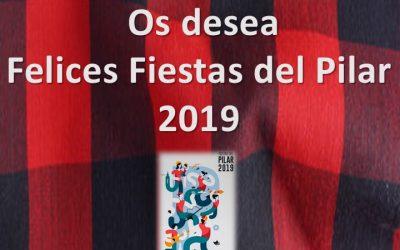ASAFA os desea unas Felices Fiestas del Pilar 2019